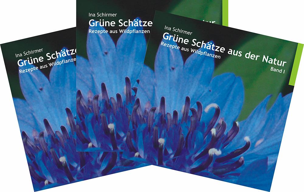Kräuter | Verbena | Usedom | Verlag | Buch | «Grüne Schätze aus der Natur | Rezepte aus Wildpflanzen | Band I»