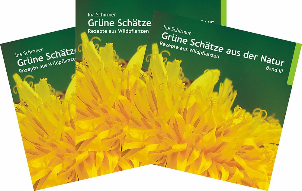 Kräuter | Verbena | Usedom | Verlag | Buch | «Grüne Schätze aus der Natur | Rezepte aus Wildpflanzen | Band III»